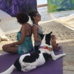 """FERRAGOSTO AL BAUBEACH®  Con la Performance  Art and Yoga  """"Oltre il nuovo Medioevo: La stanza della Trasparenza"""""""